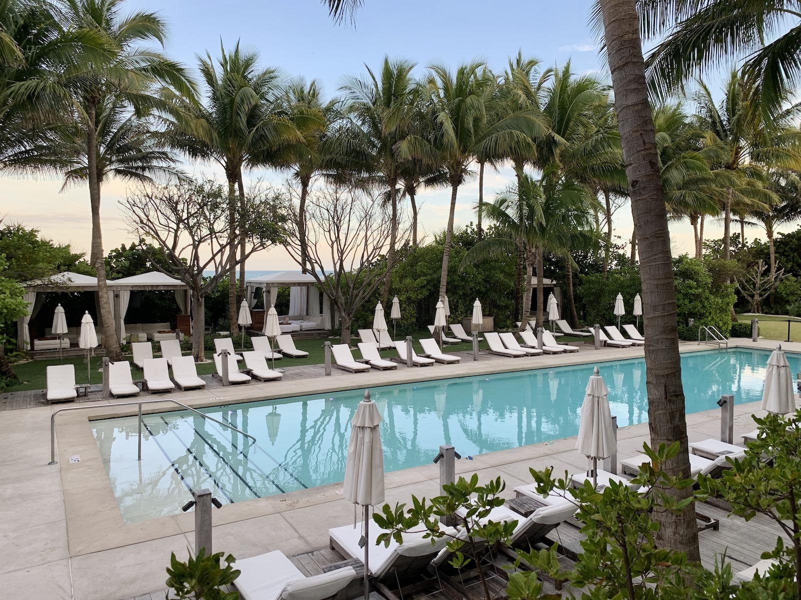 Miami Beach edition pool
